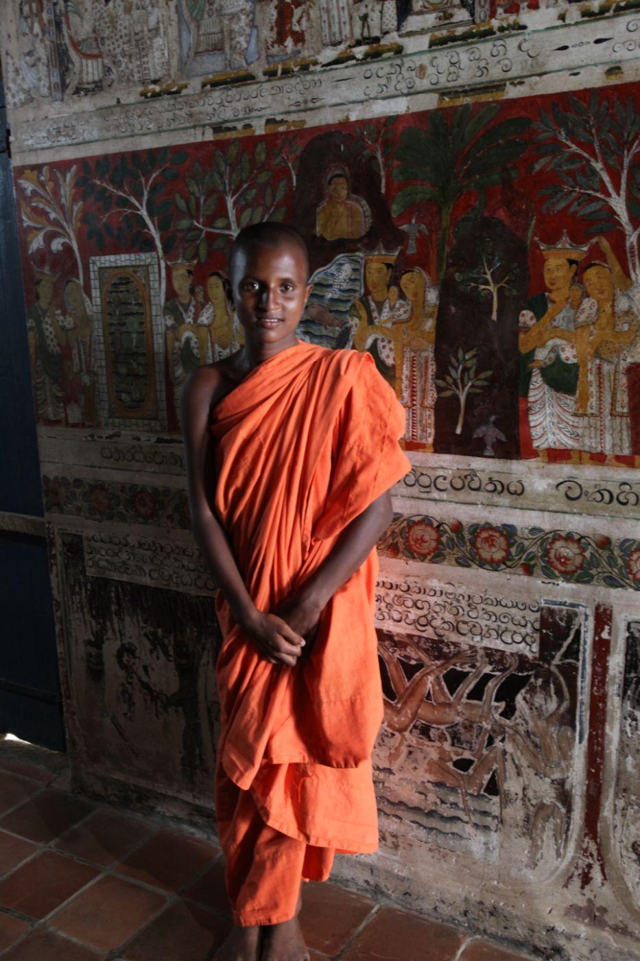 Saffron, Sri Lanka