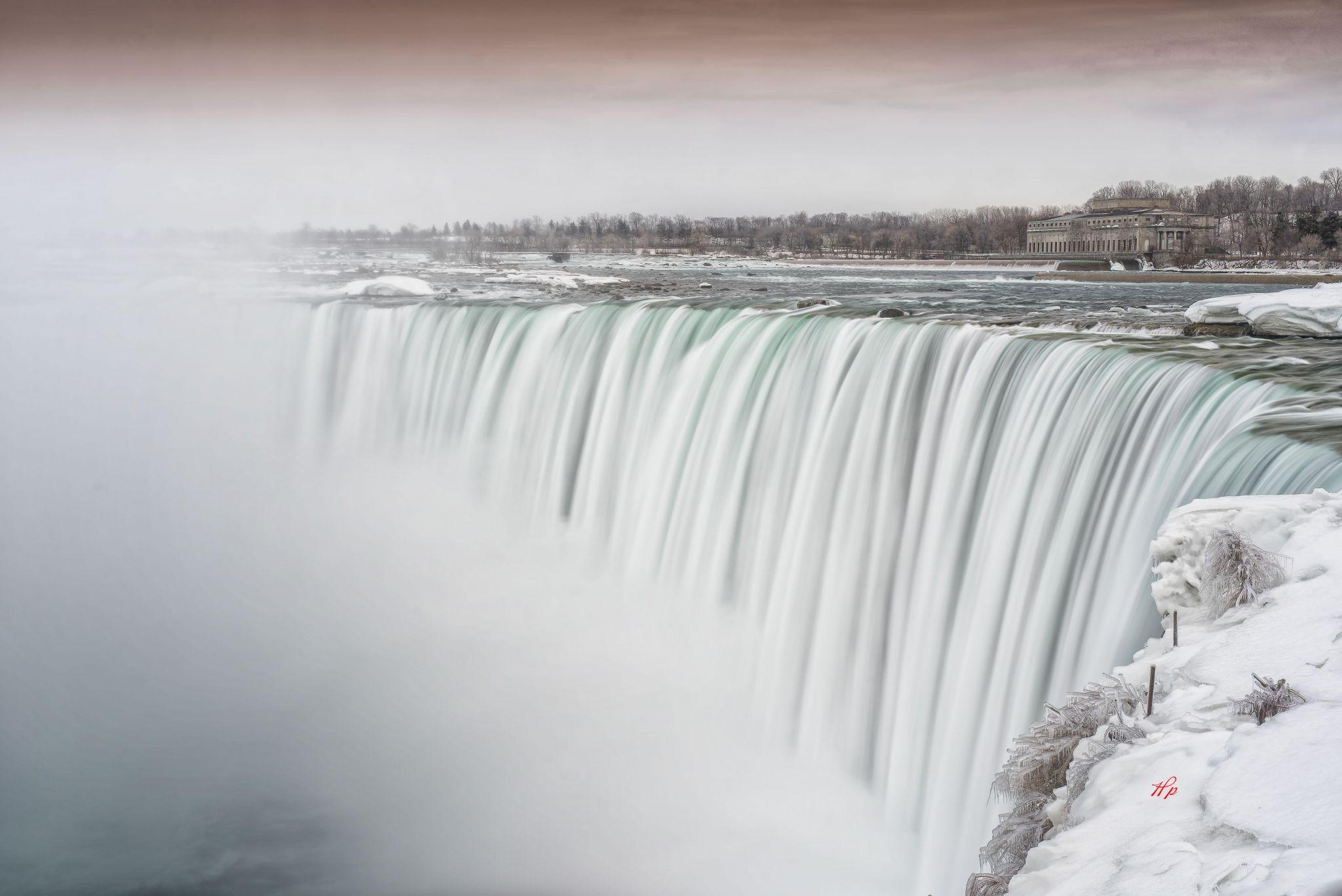 Sunrise at the Falls, Canada