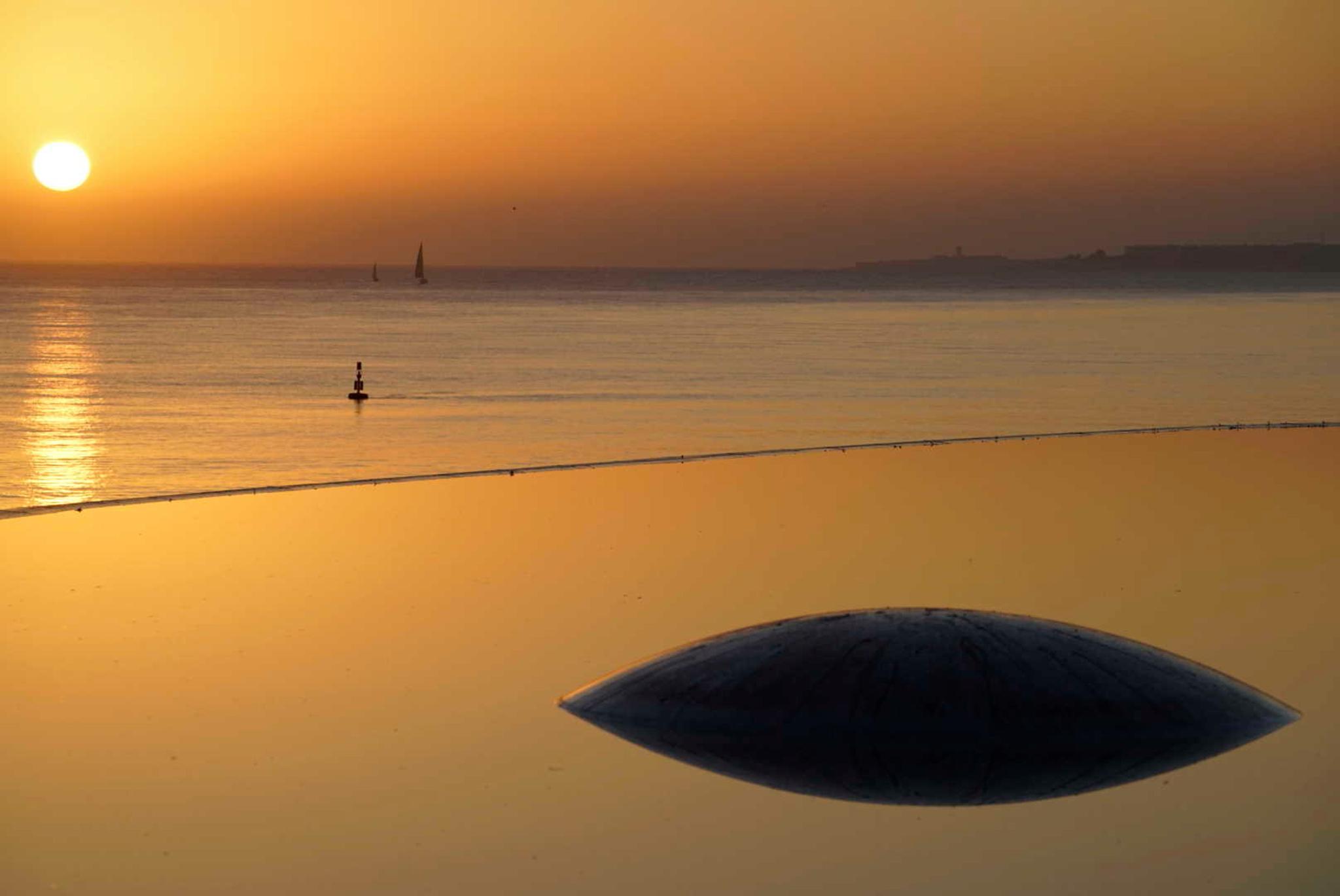 Sunset lens, Portugal