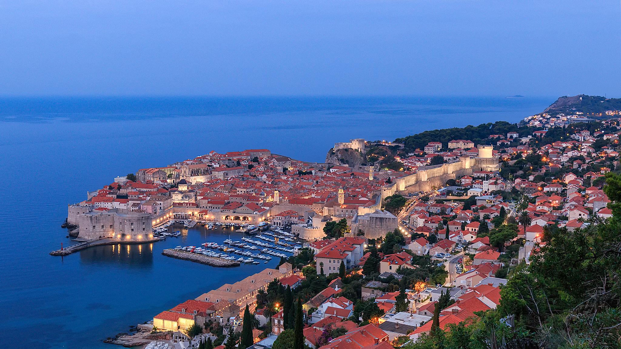 Dubrovnik Old Town View, Croatia