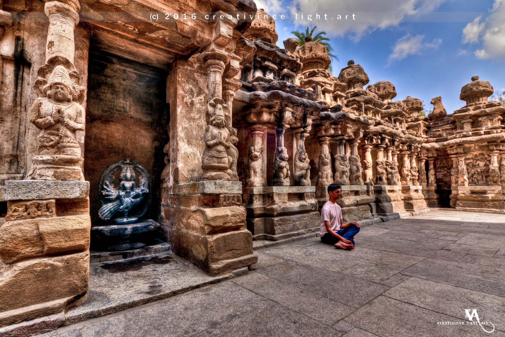 Kanchi Kailasanathar Temple, Kanchipuram, India