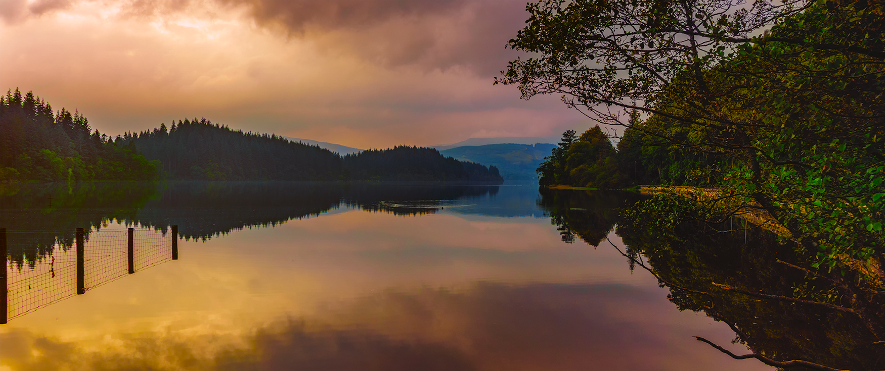 Loch Chon, Scotland, United Kingdom