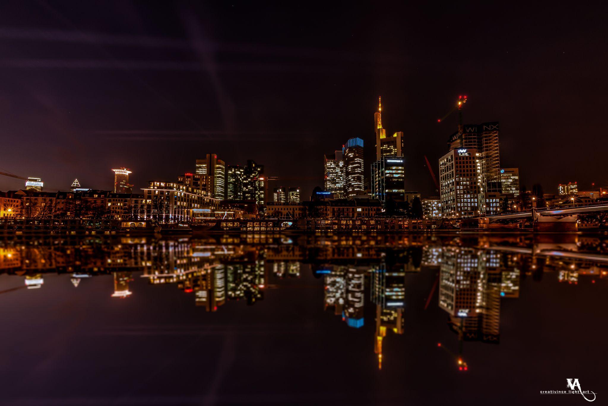 Mainhatten, Frankfurt Skyline, Germany