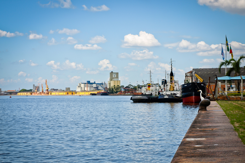 Porto Alegre Wharf, Brazil