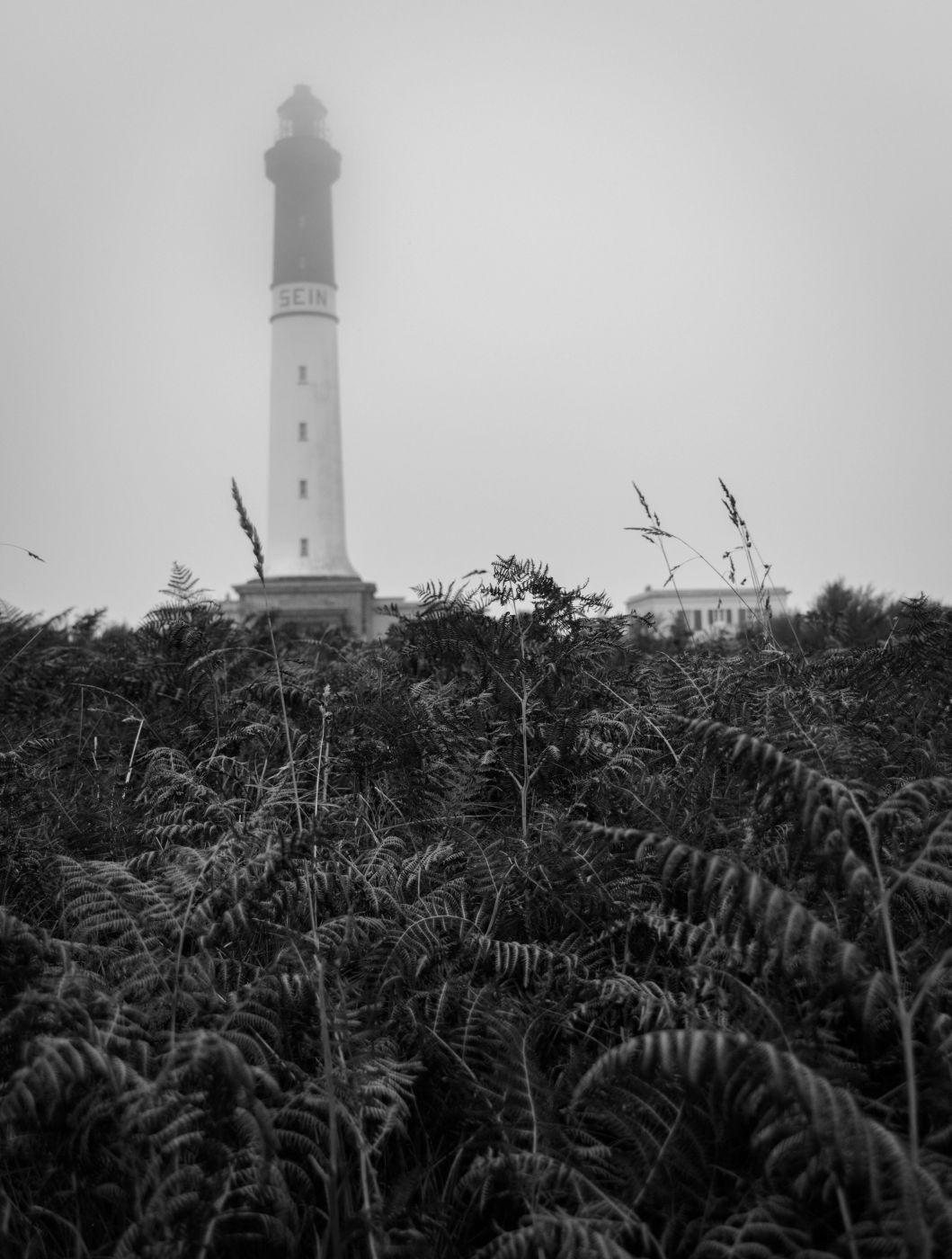 Sein island lighthouse, France