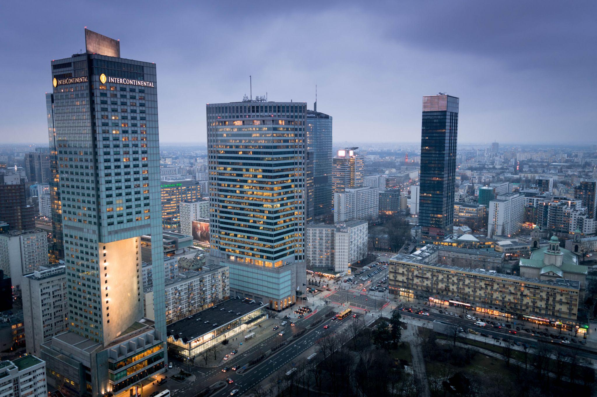 Warsaw Modern City, Poland