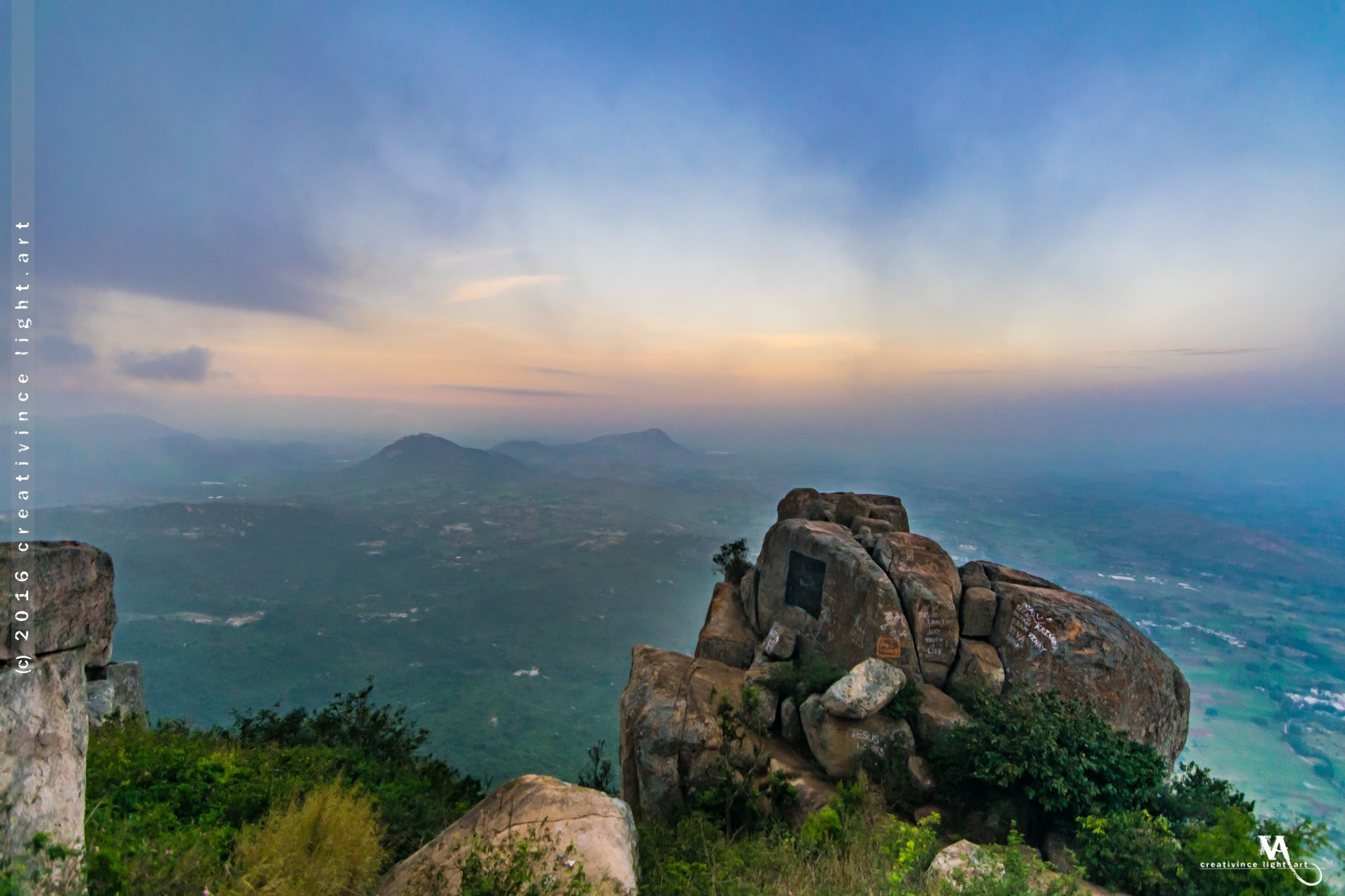 Whisper Winds Viewpoint, Horsley Hills, India