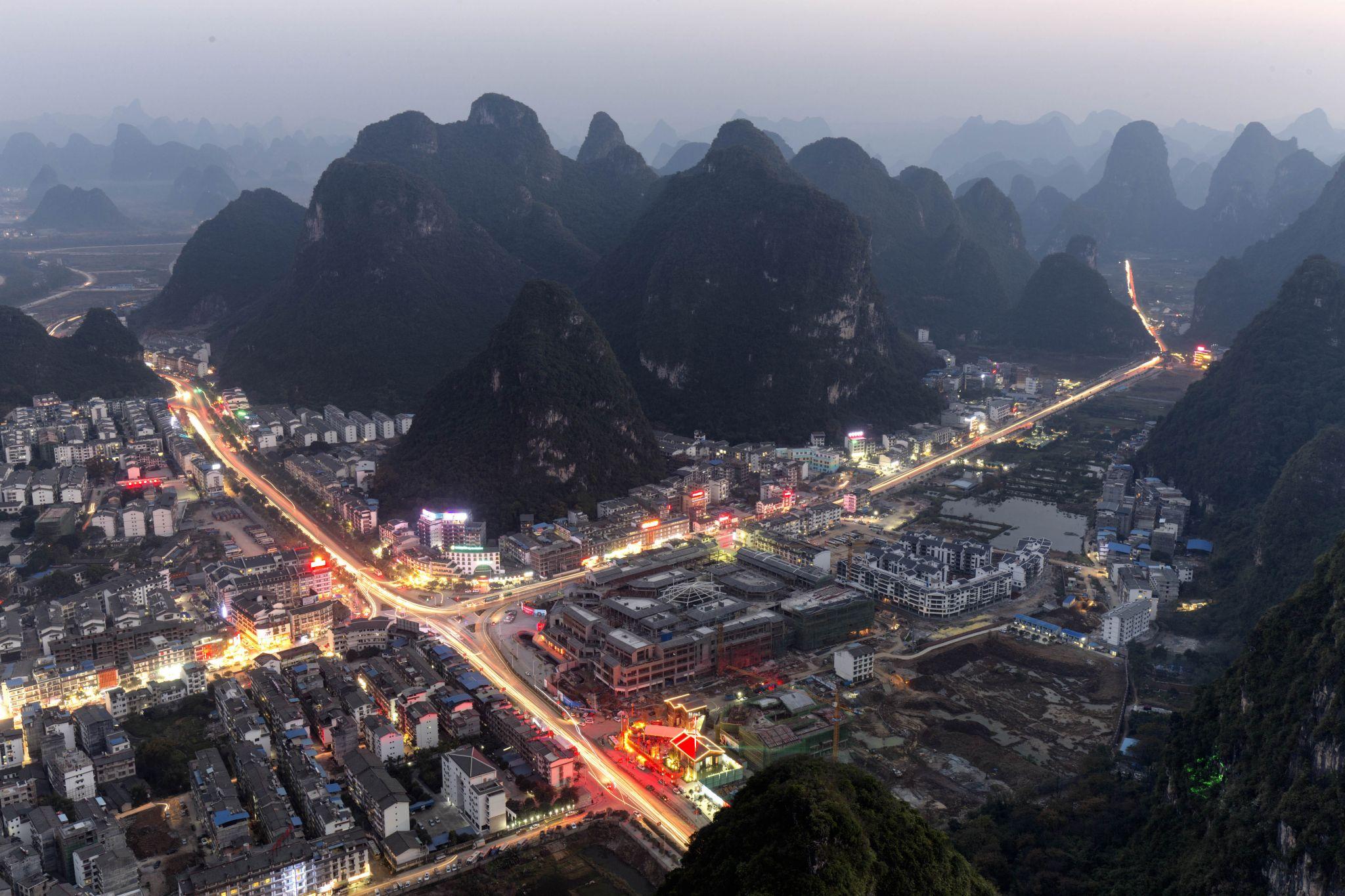 Yangshuo Radio Mountain, China
