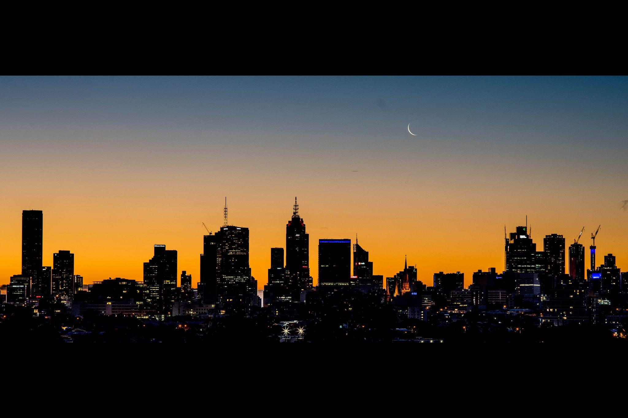 Yarra Bend Park City View, Australia