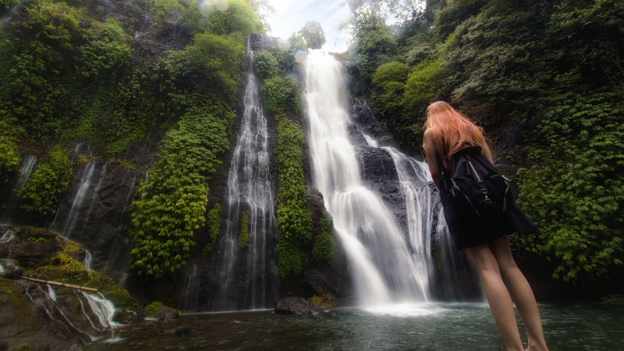 Banyumala Waterfall, Indonesia