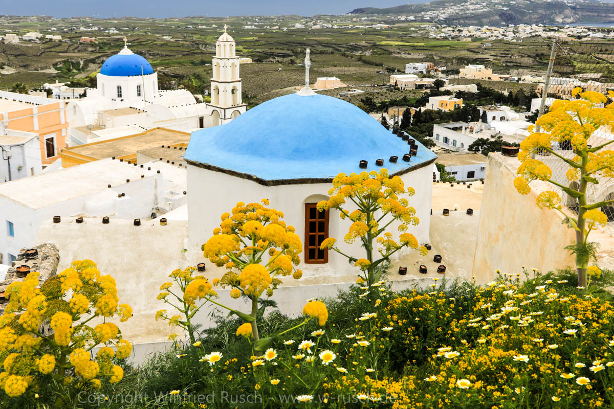 Blick auf Pyrgos, Greece
