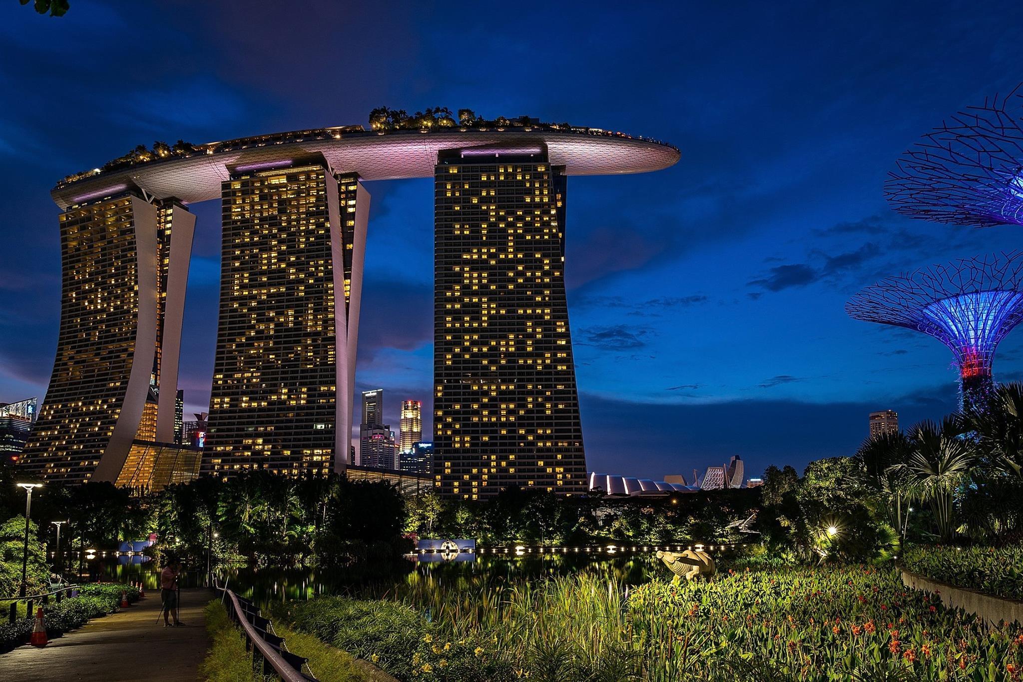 Marina Bay Sands & Garden by the Bay, Singapore