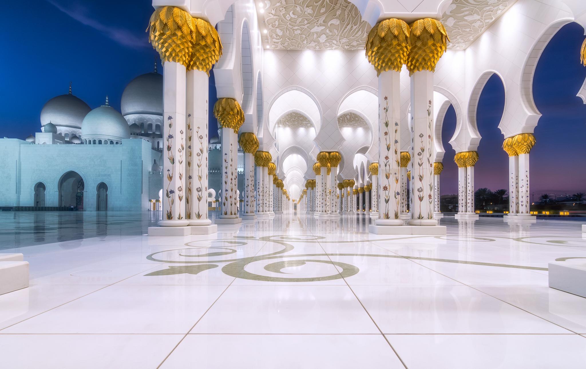 Grand Mosque Abu Dhabi, United Arab Emirates