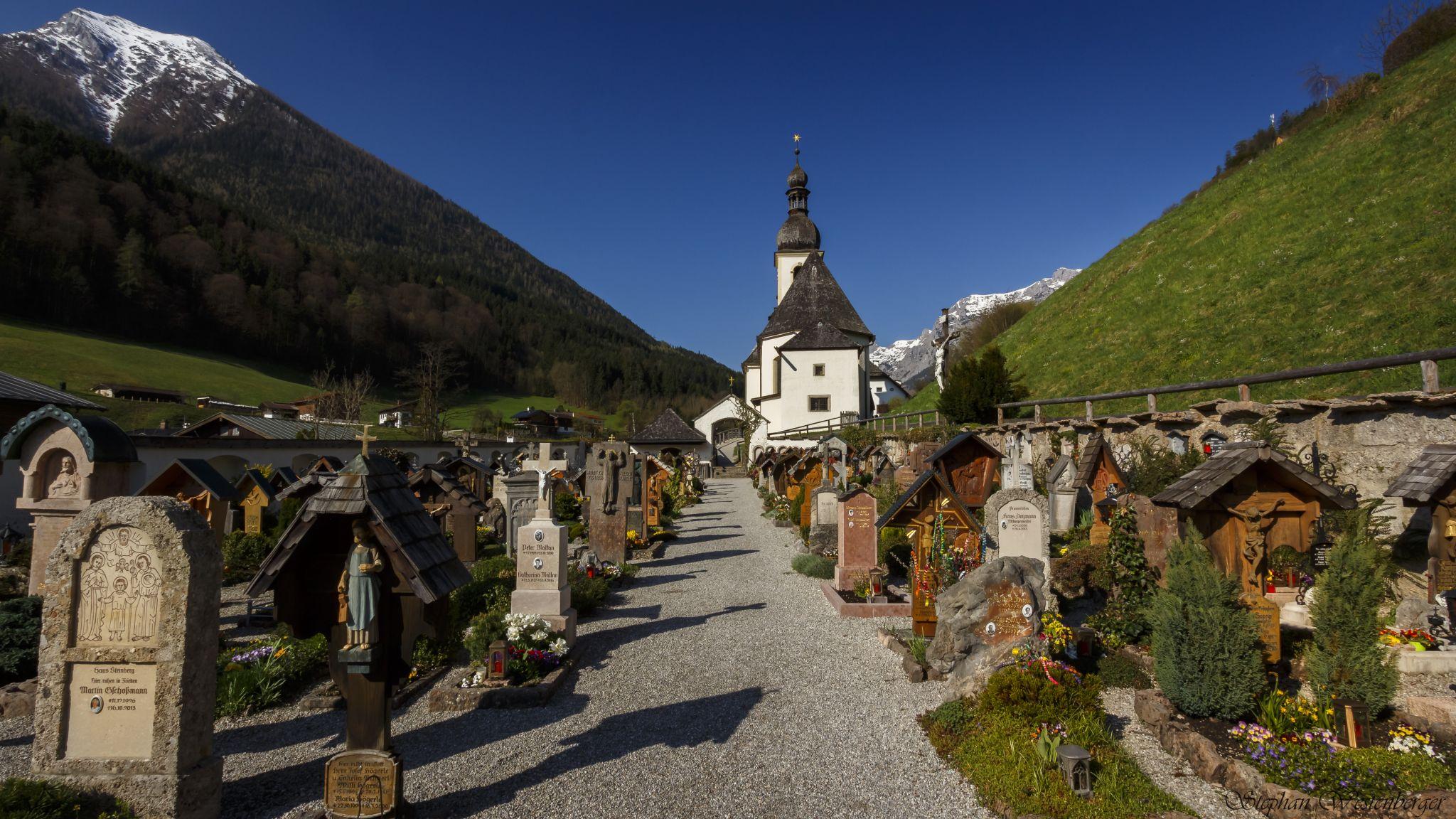Graveyard @ St. Sebastian (Ramsau), Germany