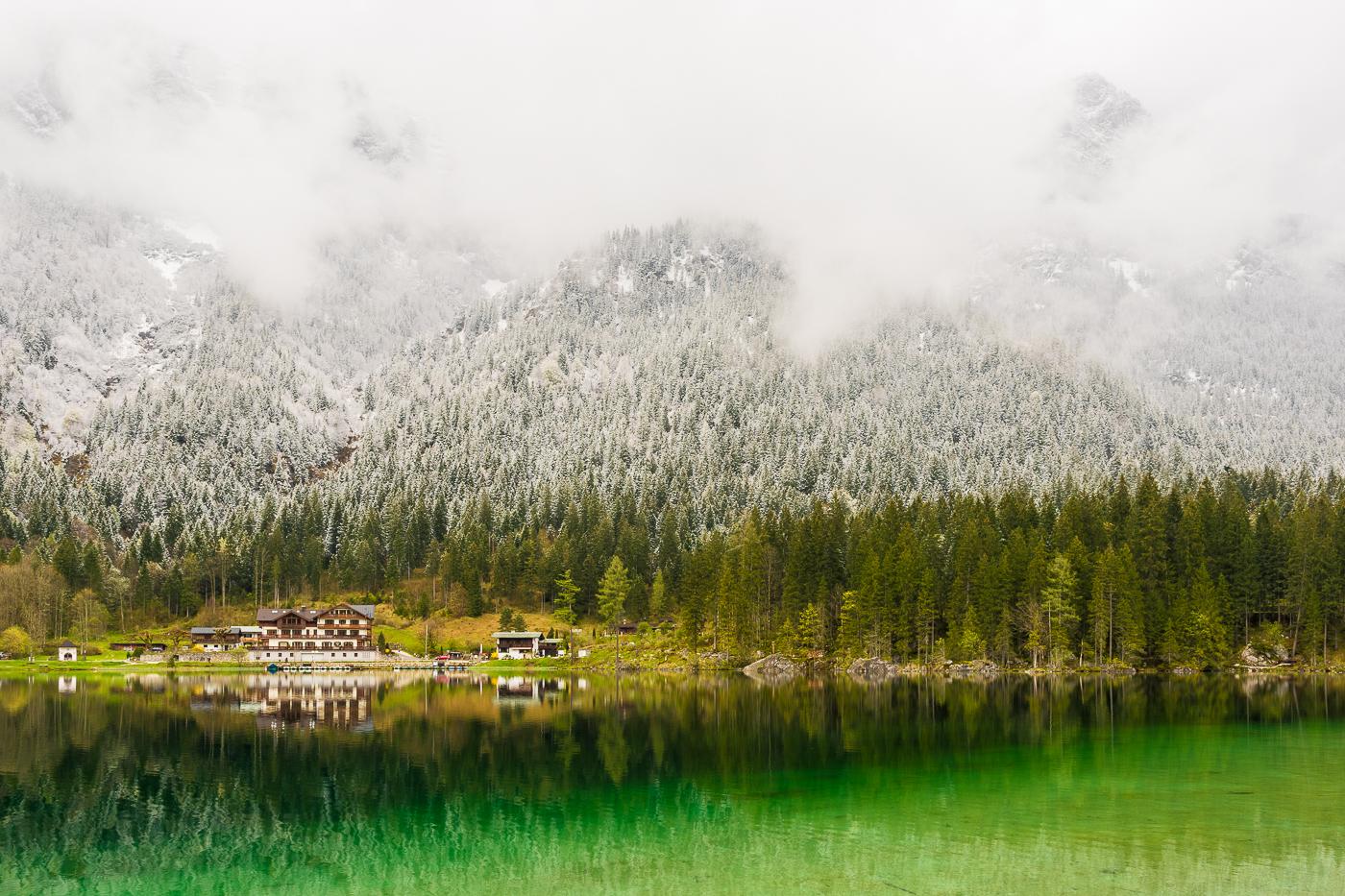Hintersee, Ramsau, Berchtesgadener Land, Germany