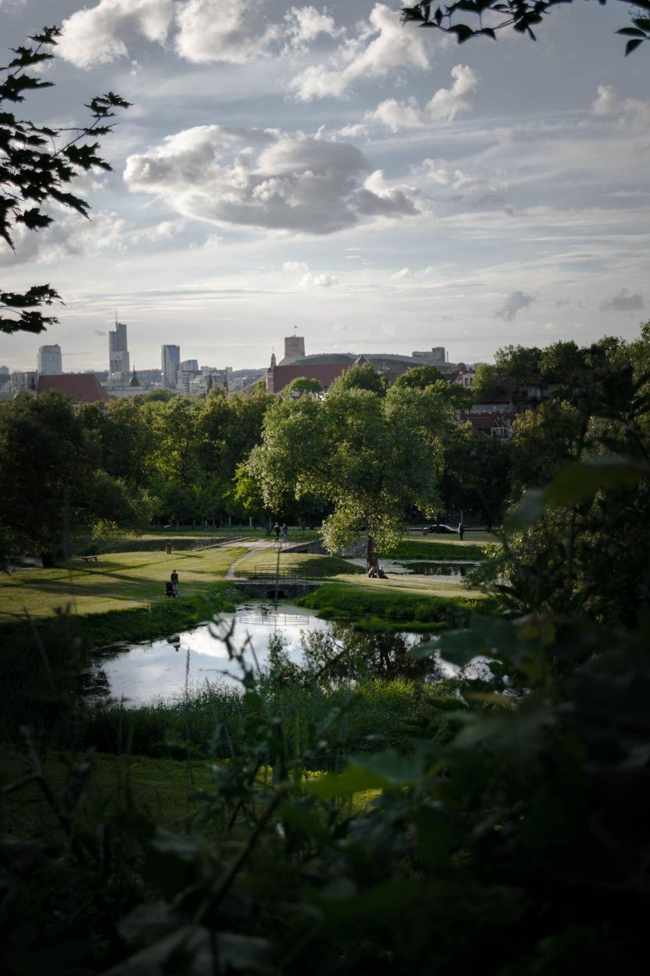 Kūdrų Park, Vilnius, Lithuania