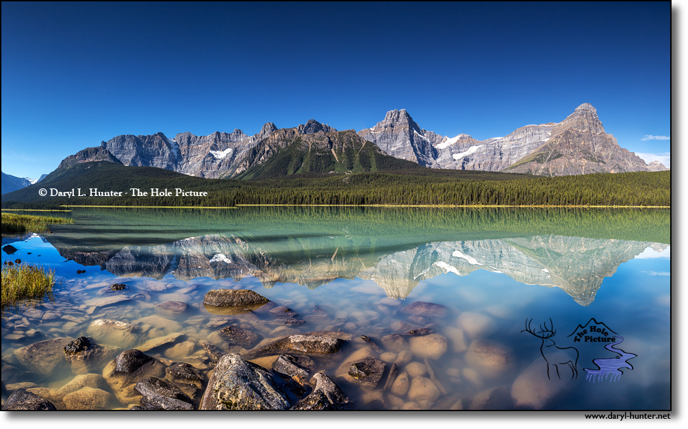 Upper Waterfoul Lake, Banff National Park, Canada