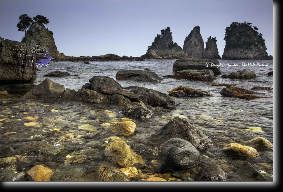 Minokake Rocks, Izu Peninsula, Japan, Japan