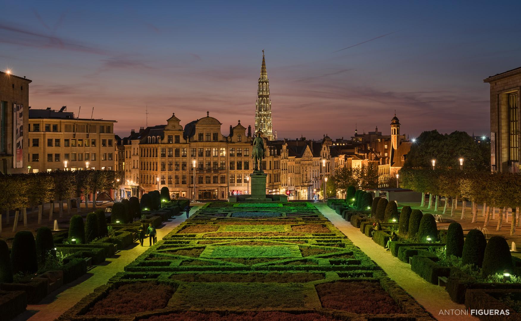 Mont des Arts Garden, Belgium