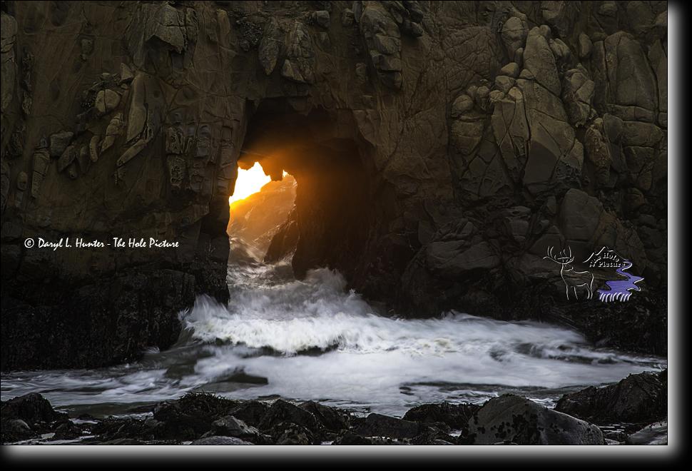 Pfeiffer Beach Sea Cave, USA