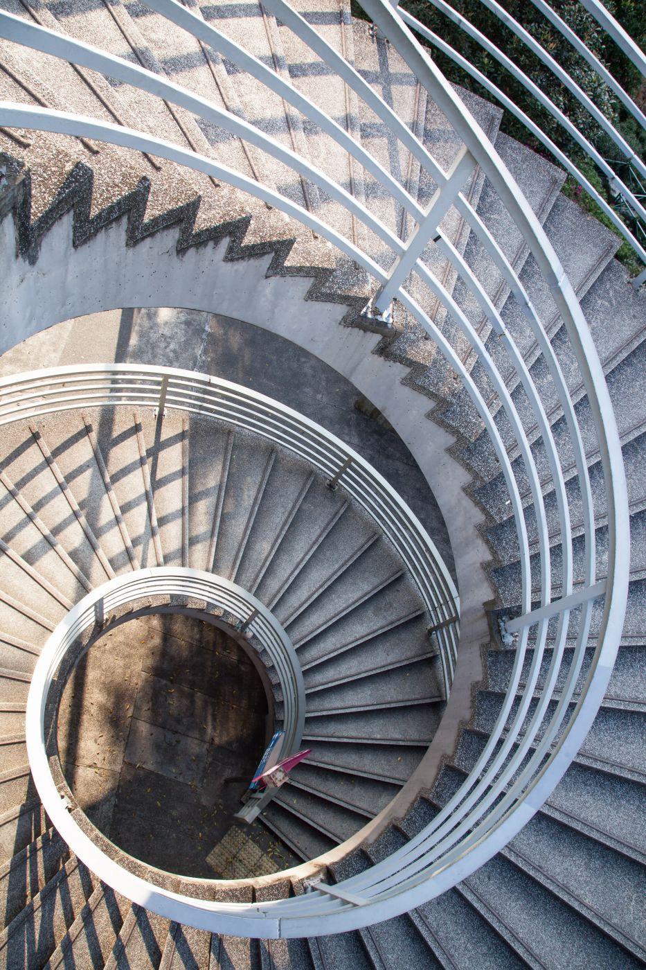 Spiral Stair Case, Hong Kong