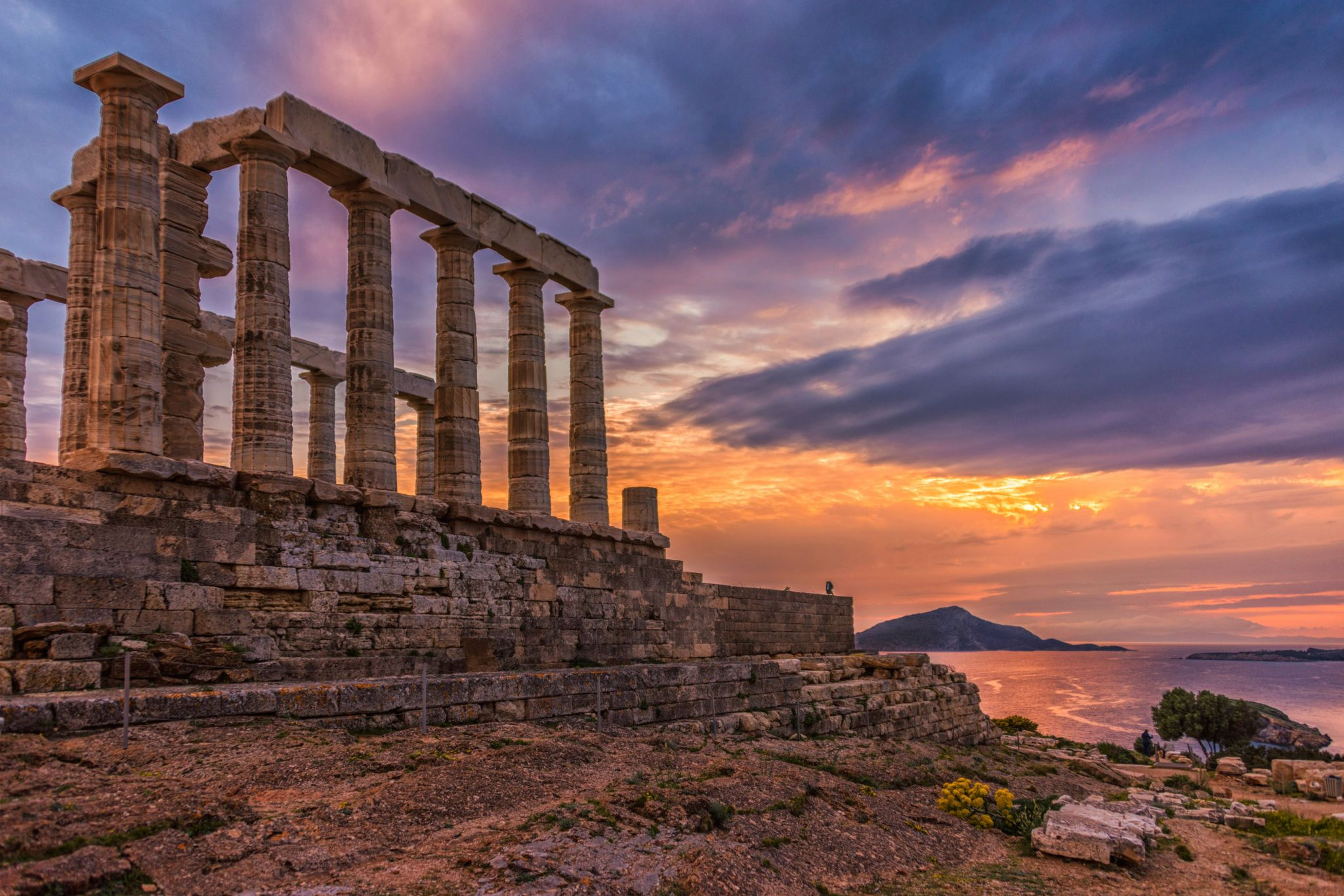 Temple of Poseidon, Cape Sounio, Greece