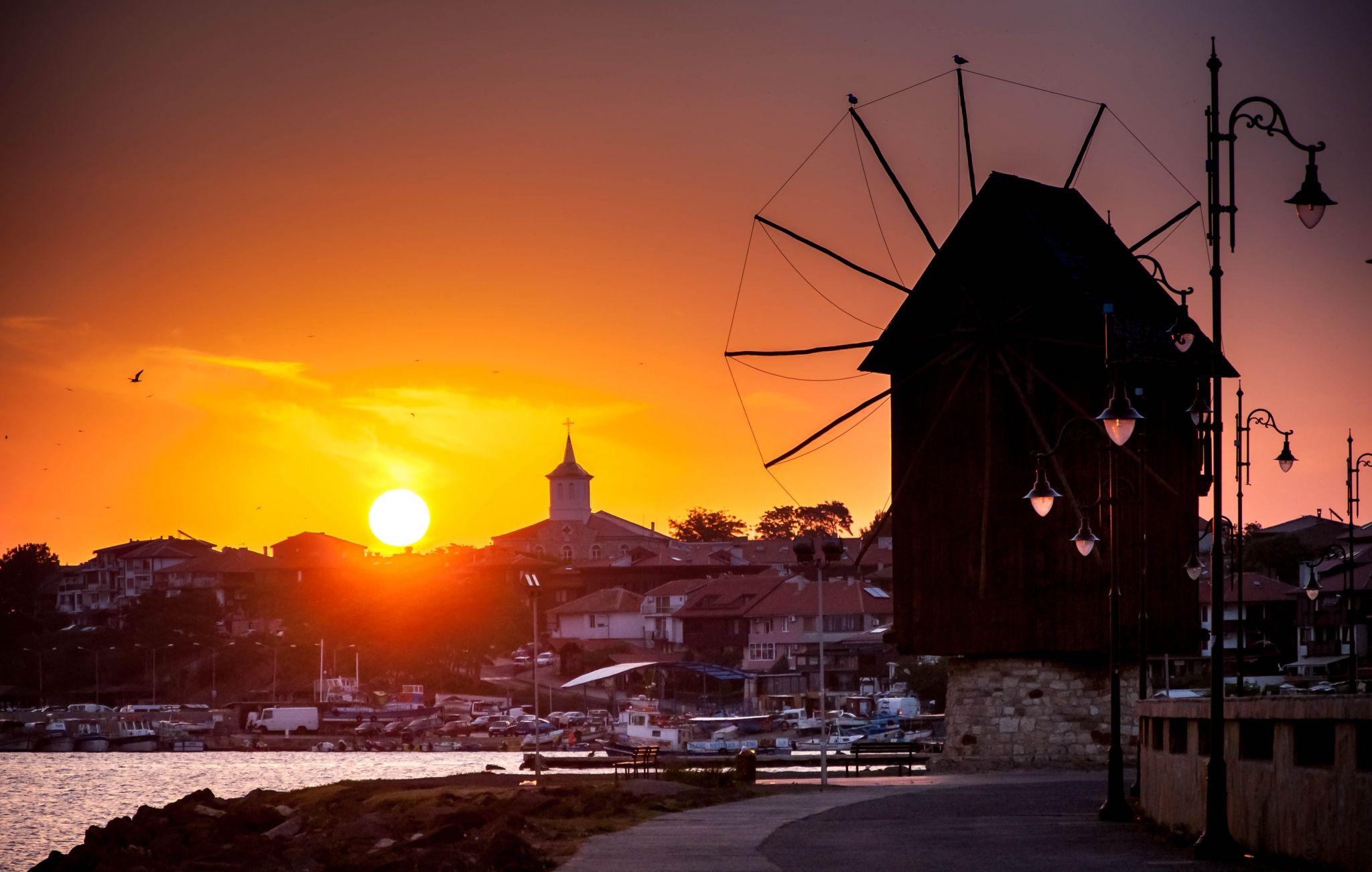The Windmill in Nessebar, Bulgaria, Bulgaria