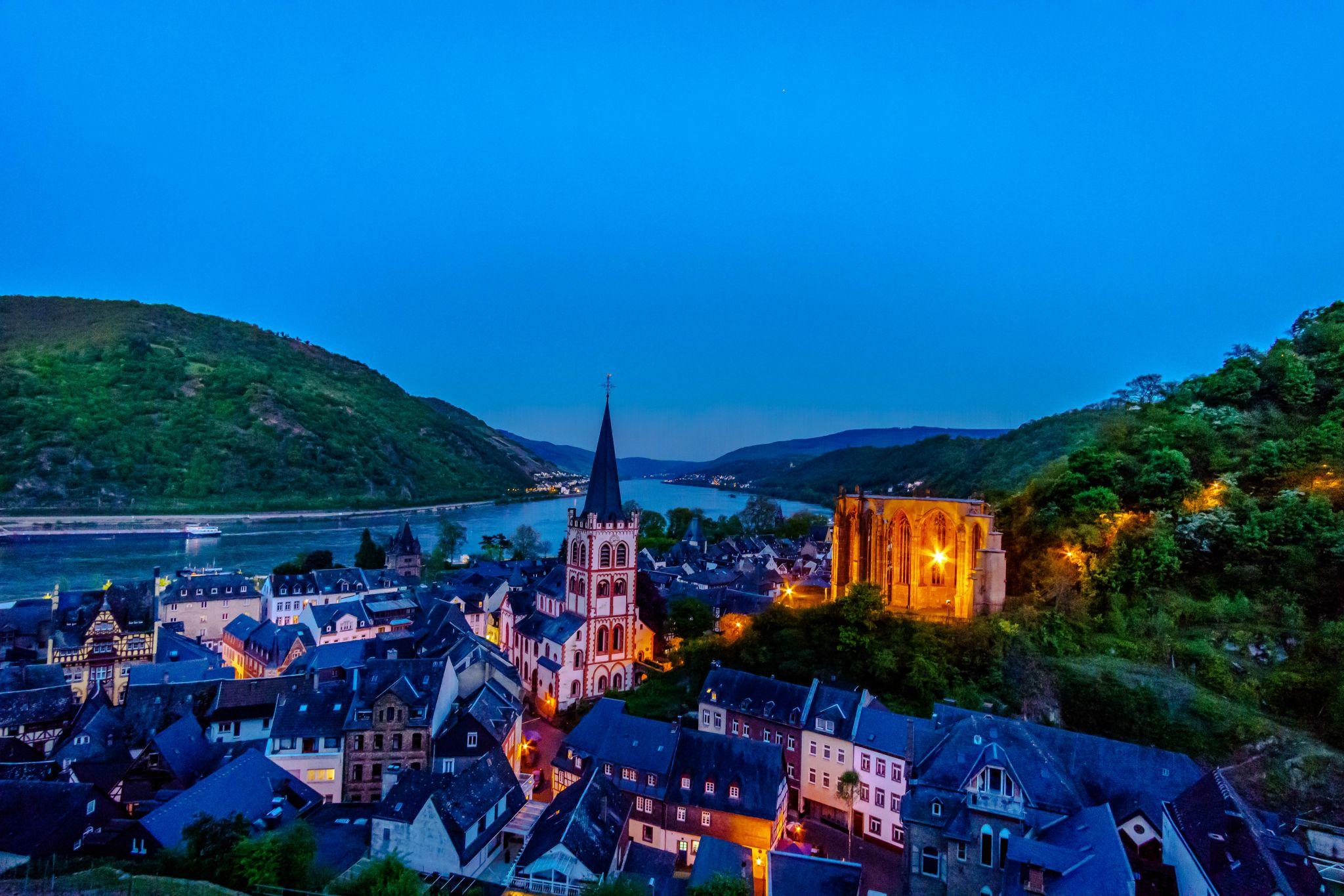 Bacharach and the Rhine, Germany