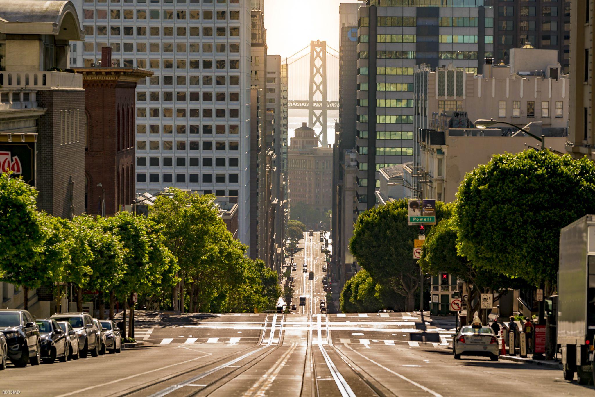 California Street SF, USA