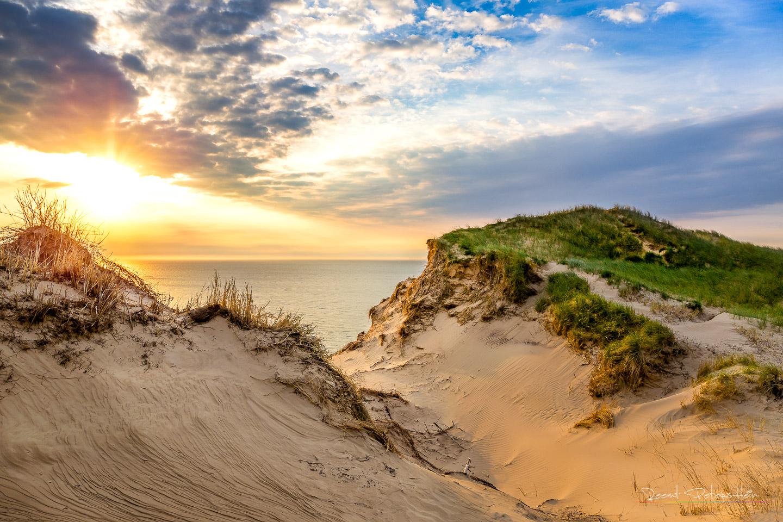 Dunes near Lønstrup, Denmark