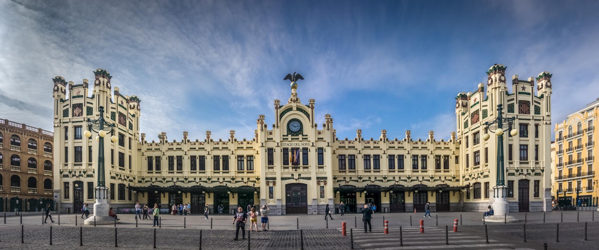 Estació del Nord - historic train station, Spain