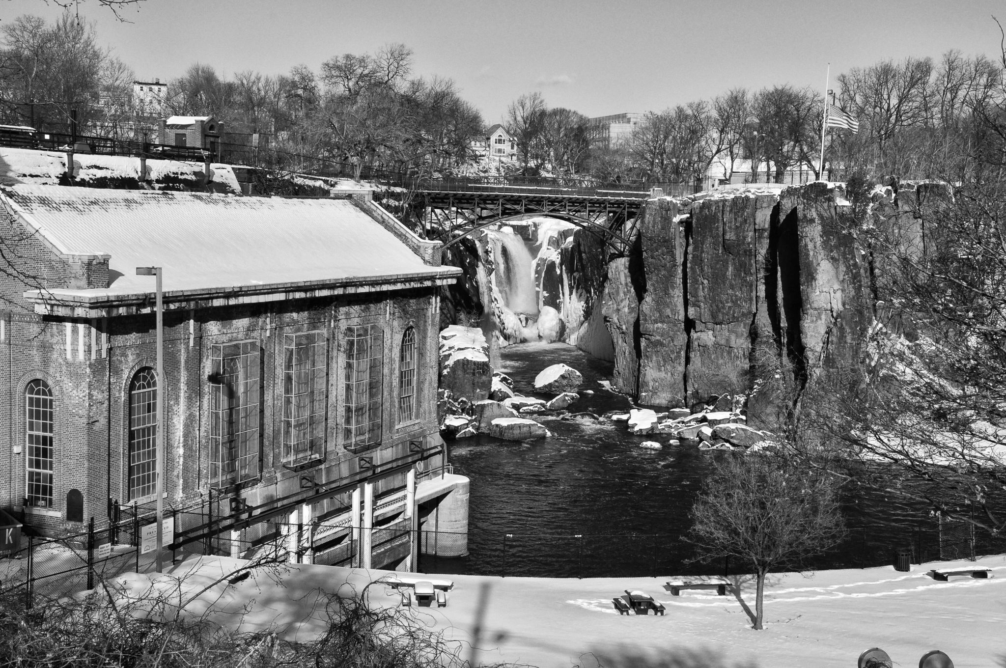Great Falls in New Jersey, USA