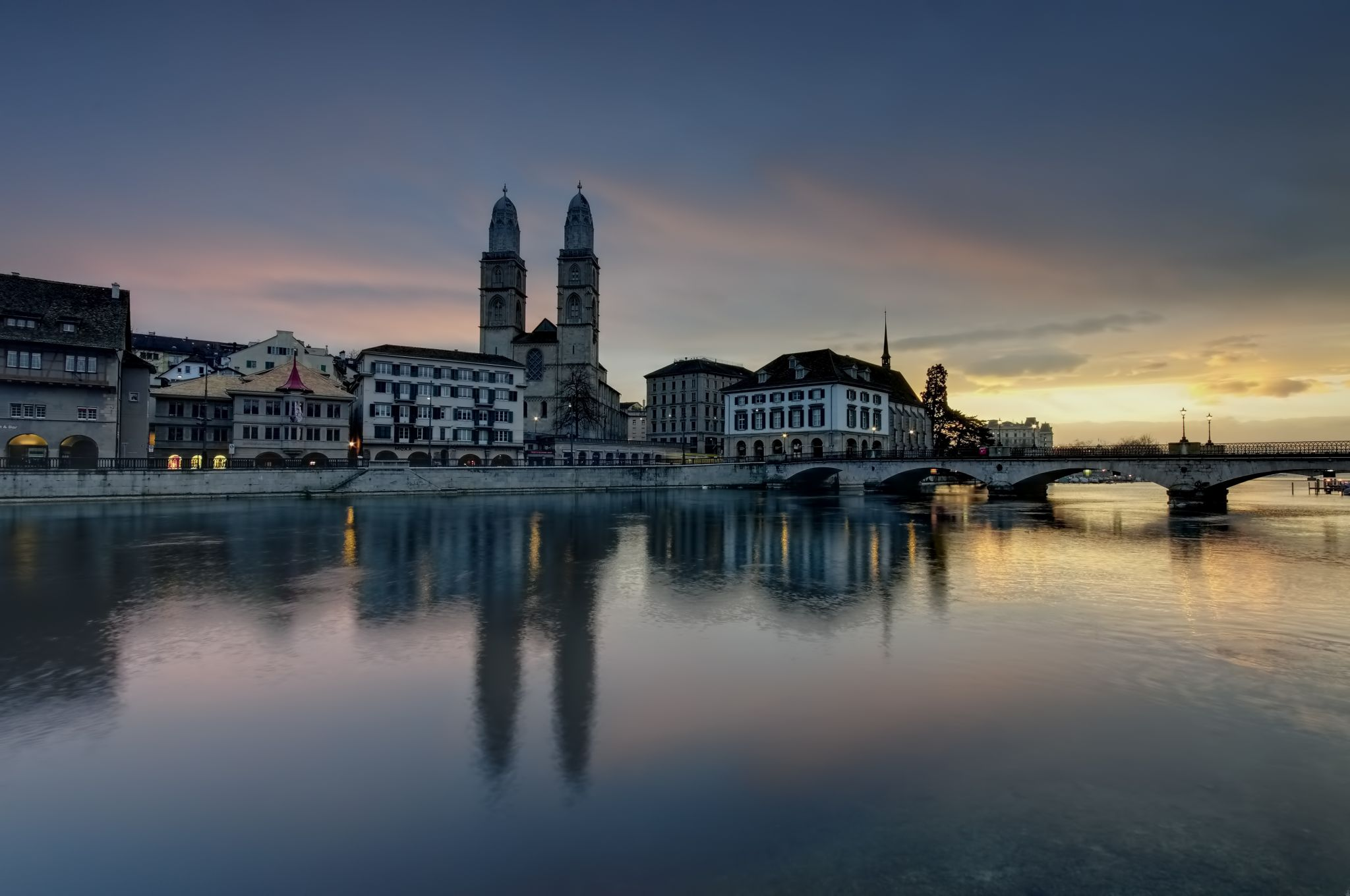 Grossmunster, Zurich, Switzerland, Switzerland