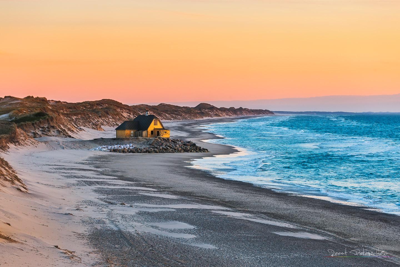 House at the beach, Denmark