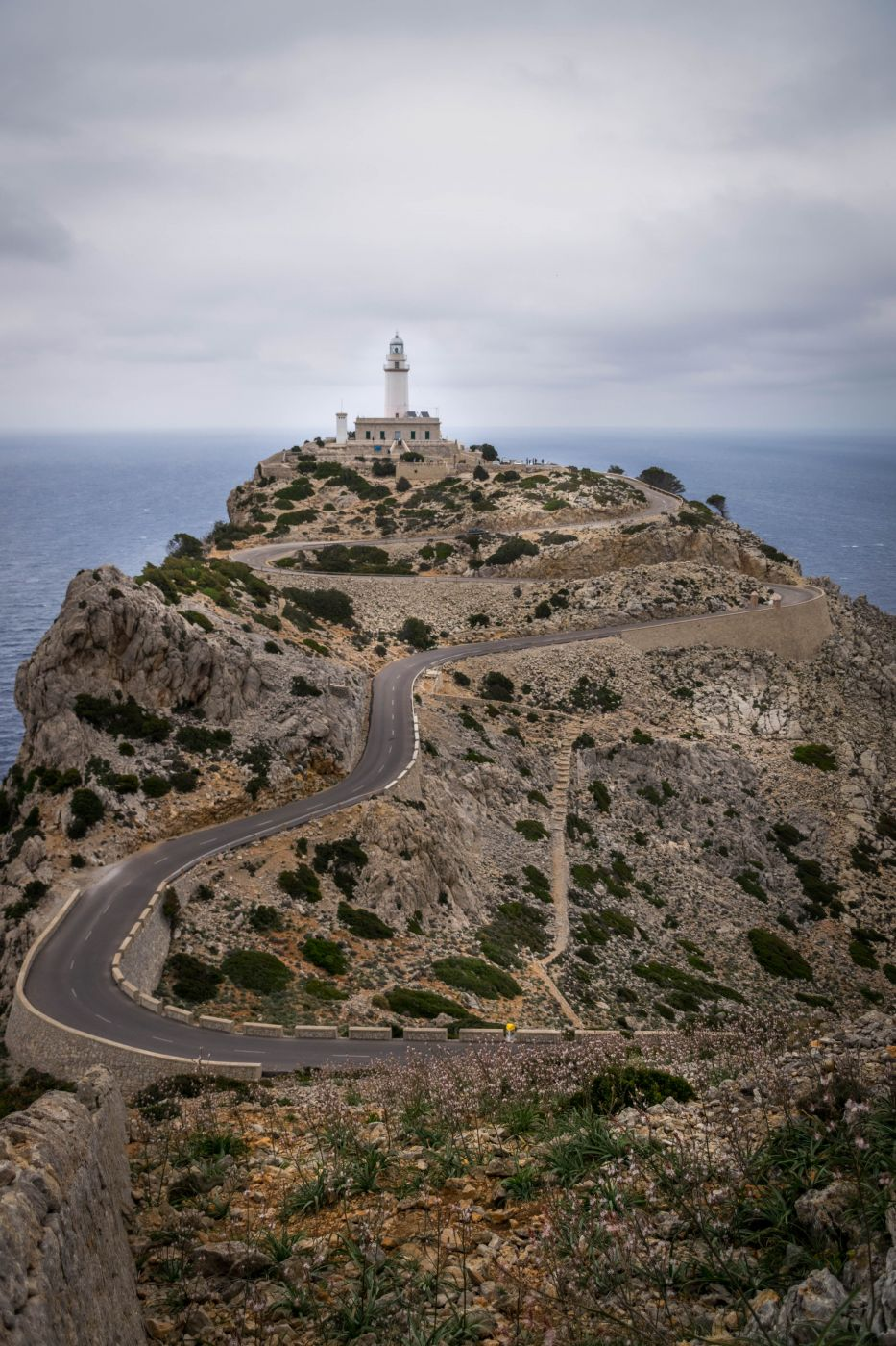 Lighthouse of the Formentor Cap, Mallorca, Spain