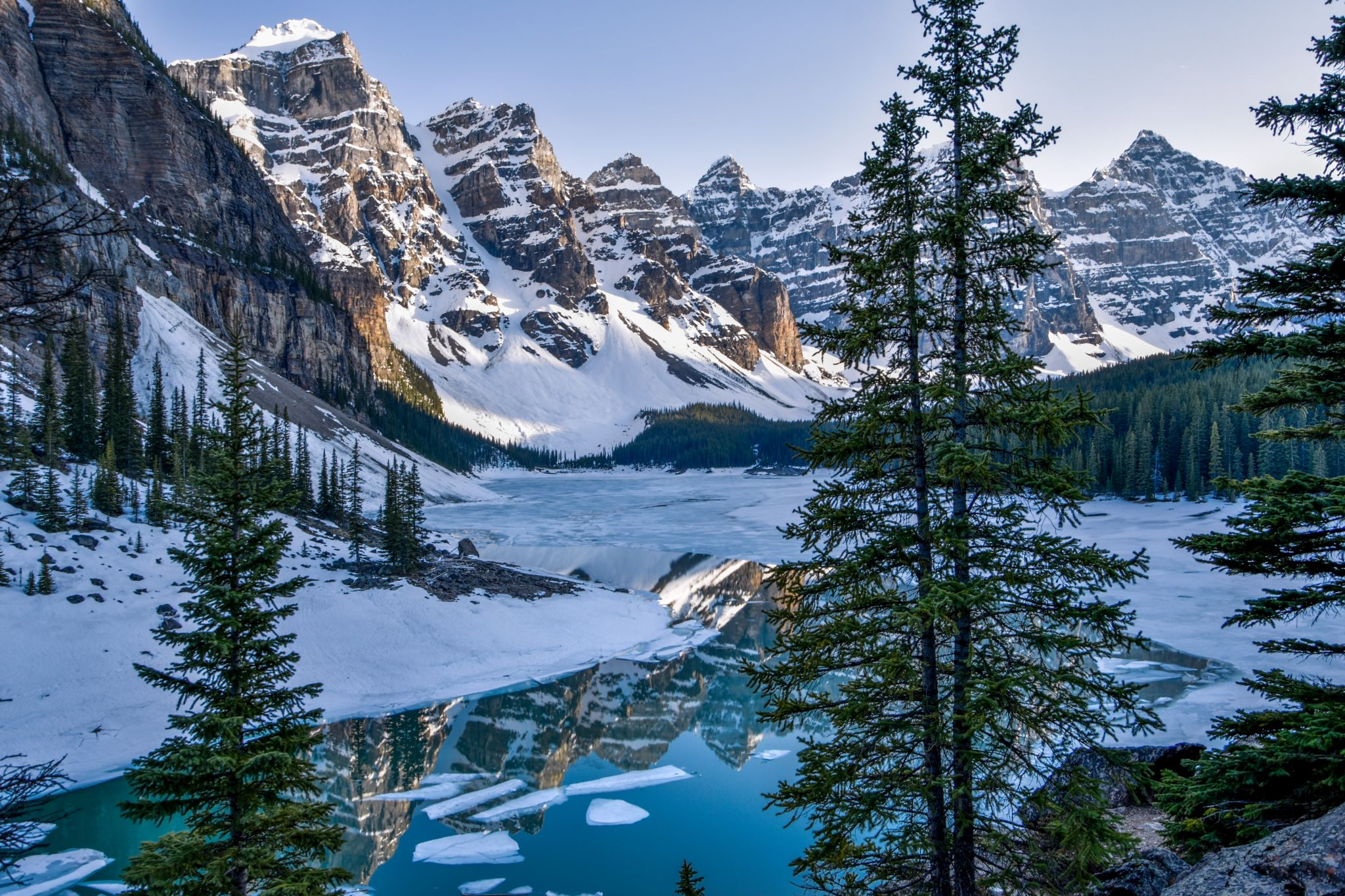 Moraine Lake Banff National Park Alberta Canada Canada