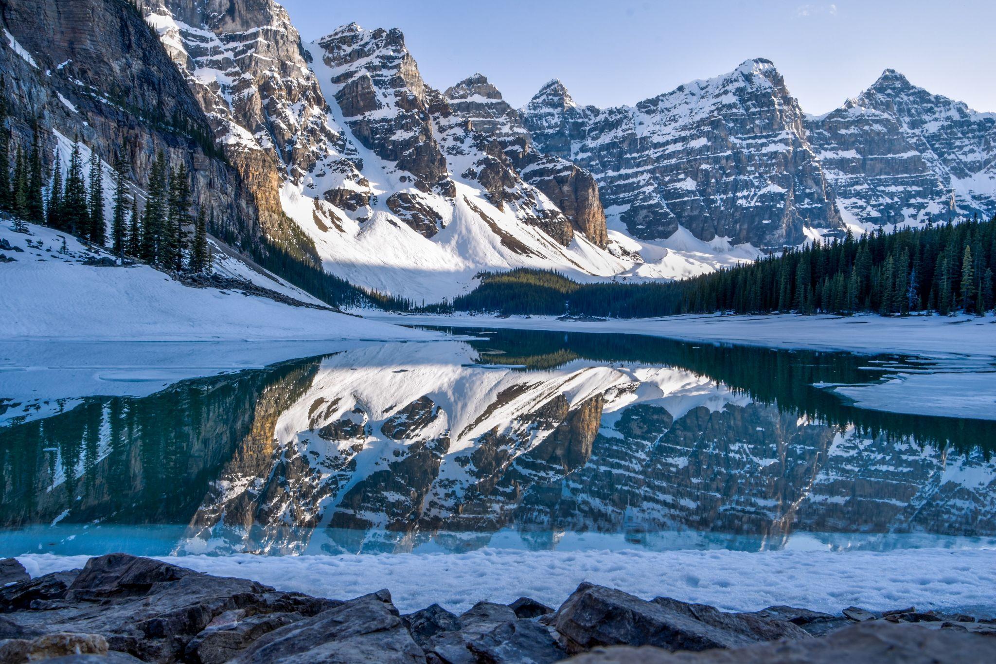 Moraine Lake - Banff National Park, Alberta, Canada, Canada
