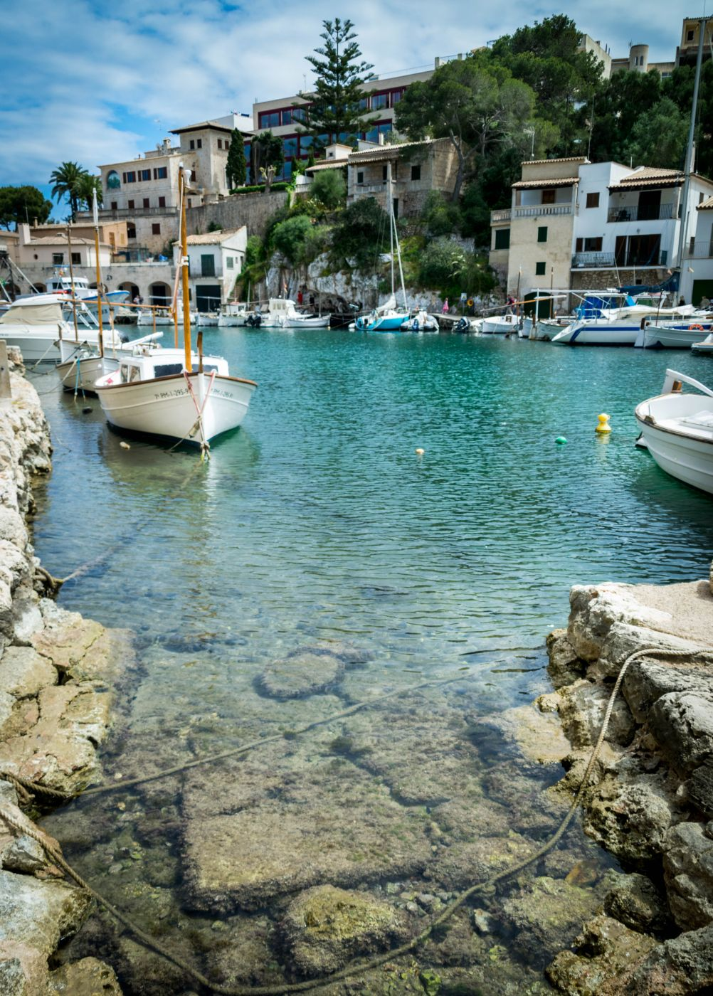 Small harbor of Cala Figuera, Mallorca, Spain
