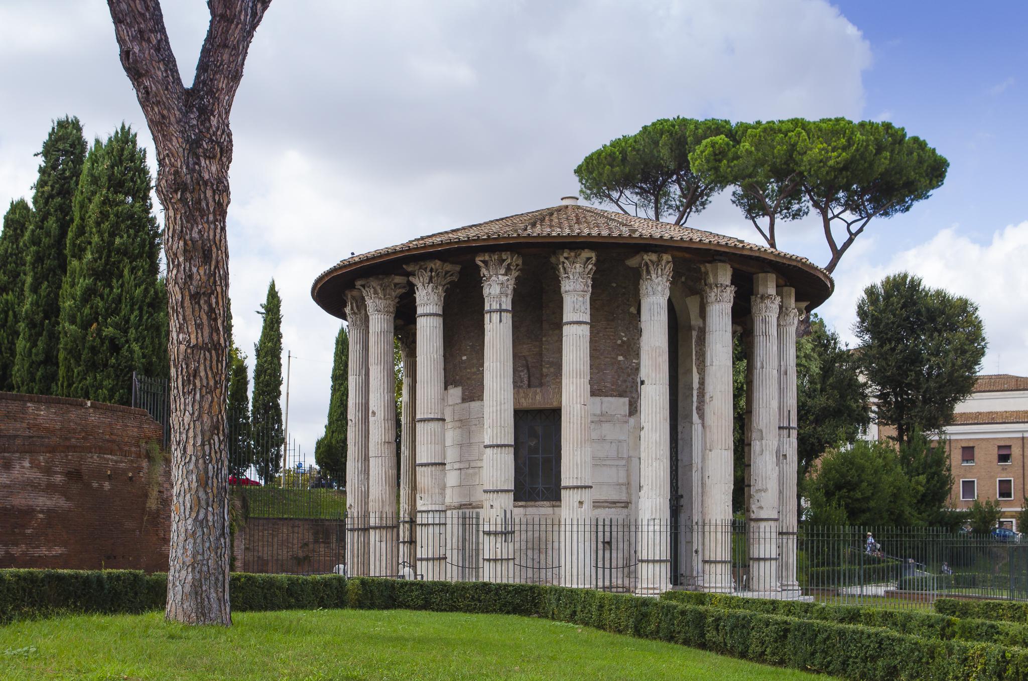 Temple of Hercules Invictus, Forum Boarium, Italy