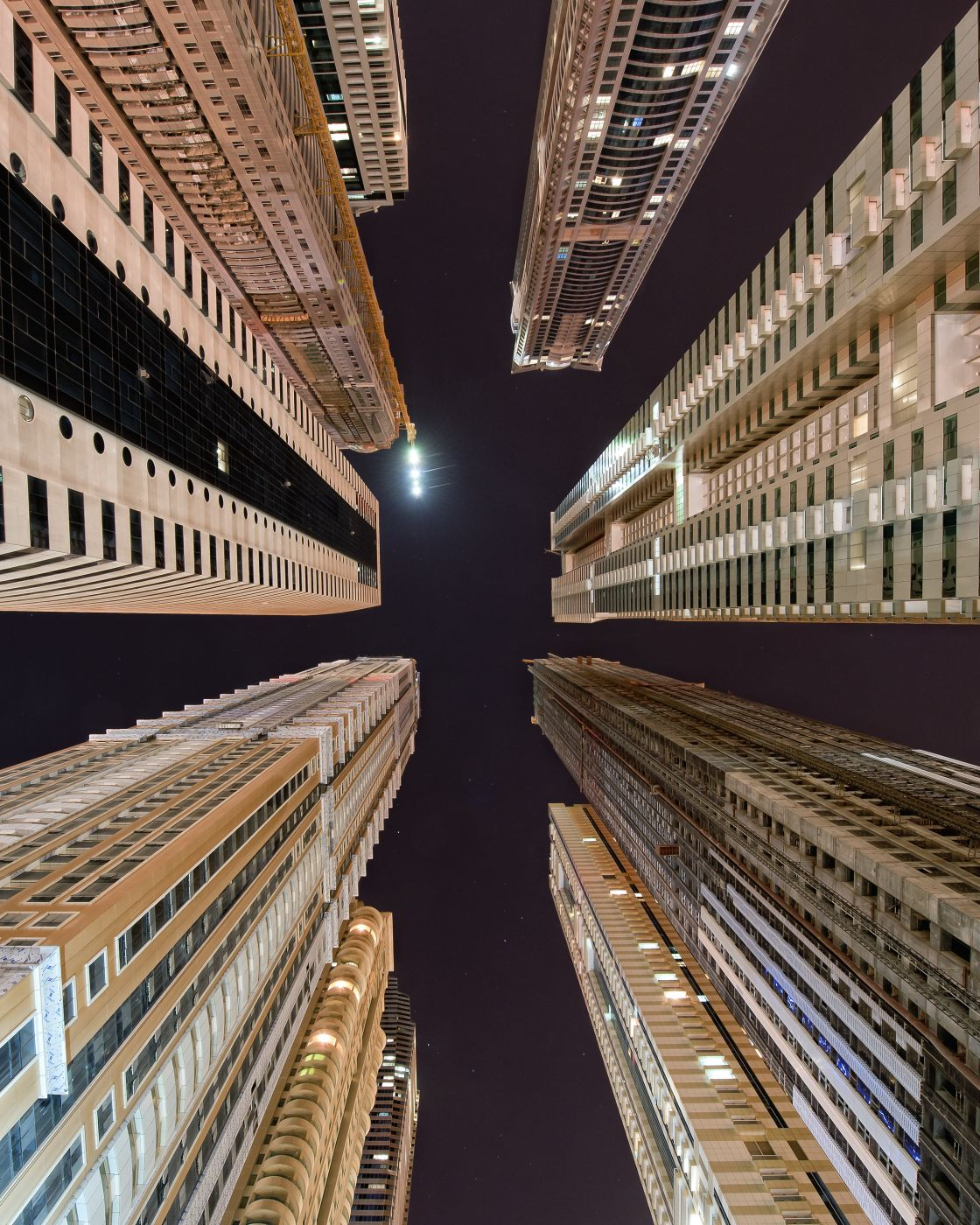 The tallest city block in the world, United Arab Emirates