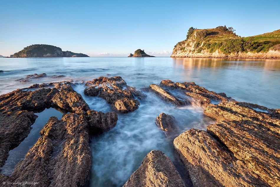 Beach at Hahei, Coromandel, New Zealand