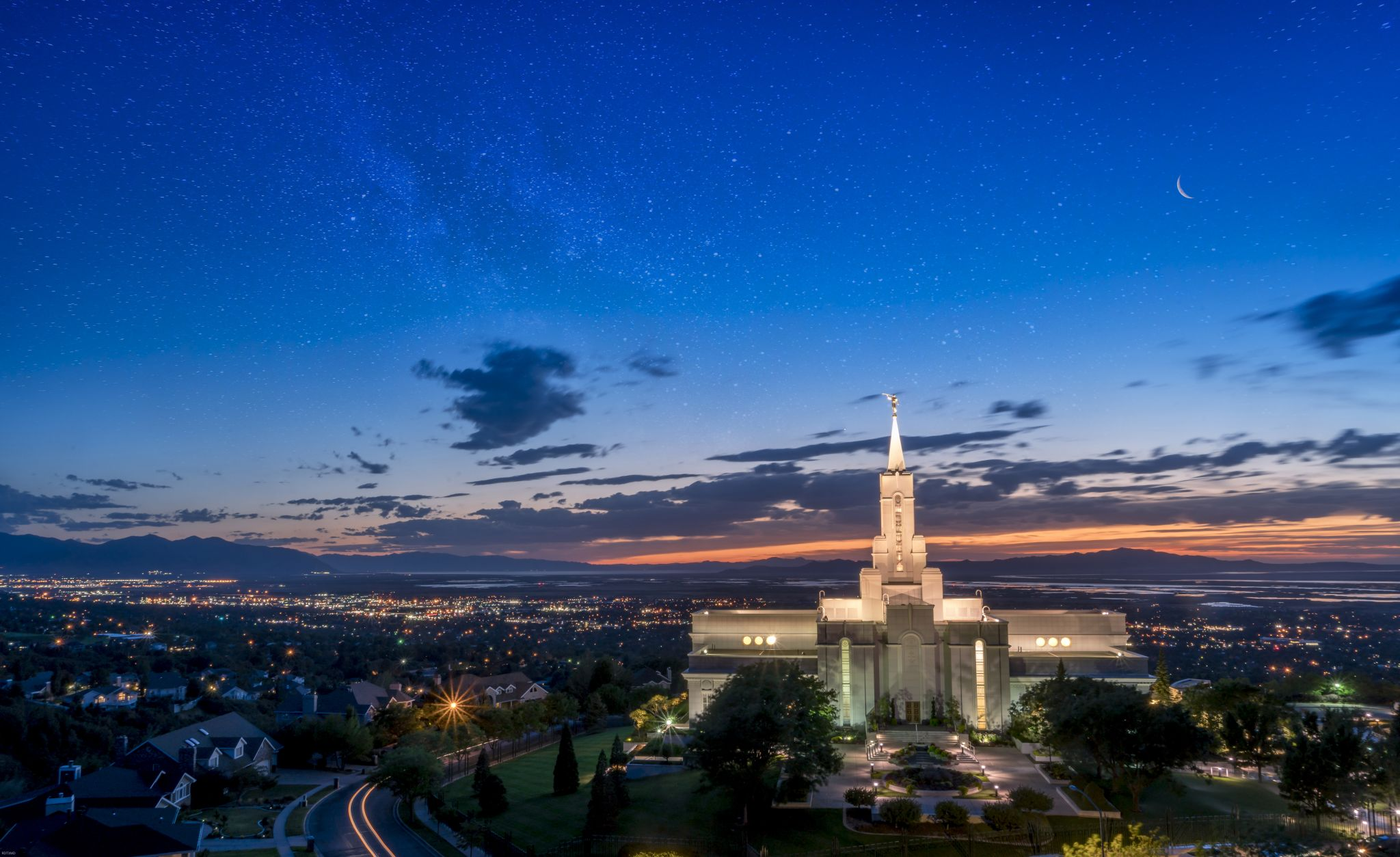 Bountiful LDS Temple, USA