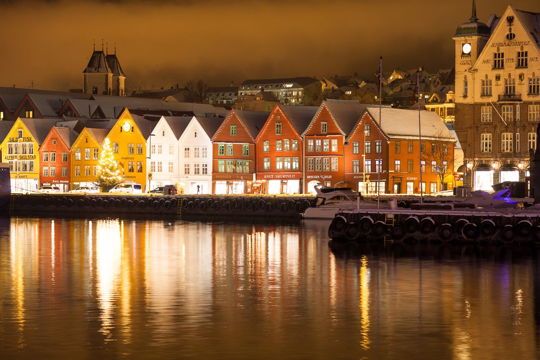 Bryggen - Bergen, Hordaland, Norway, Norway