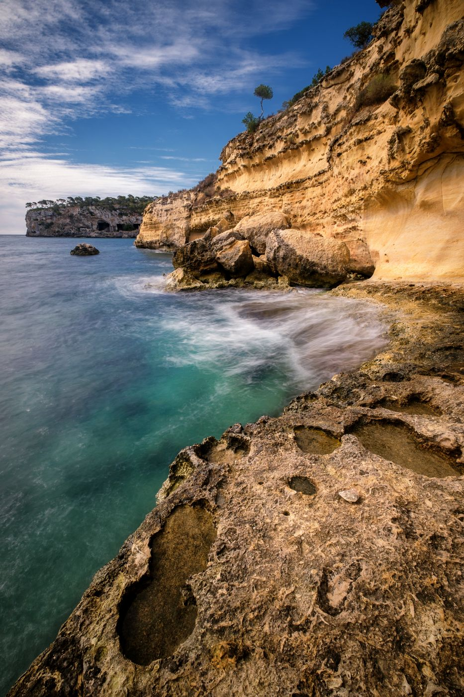 Cala Mago - Cliff, Spain