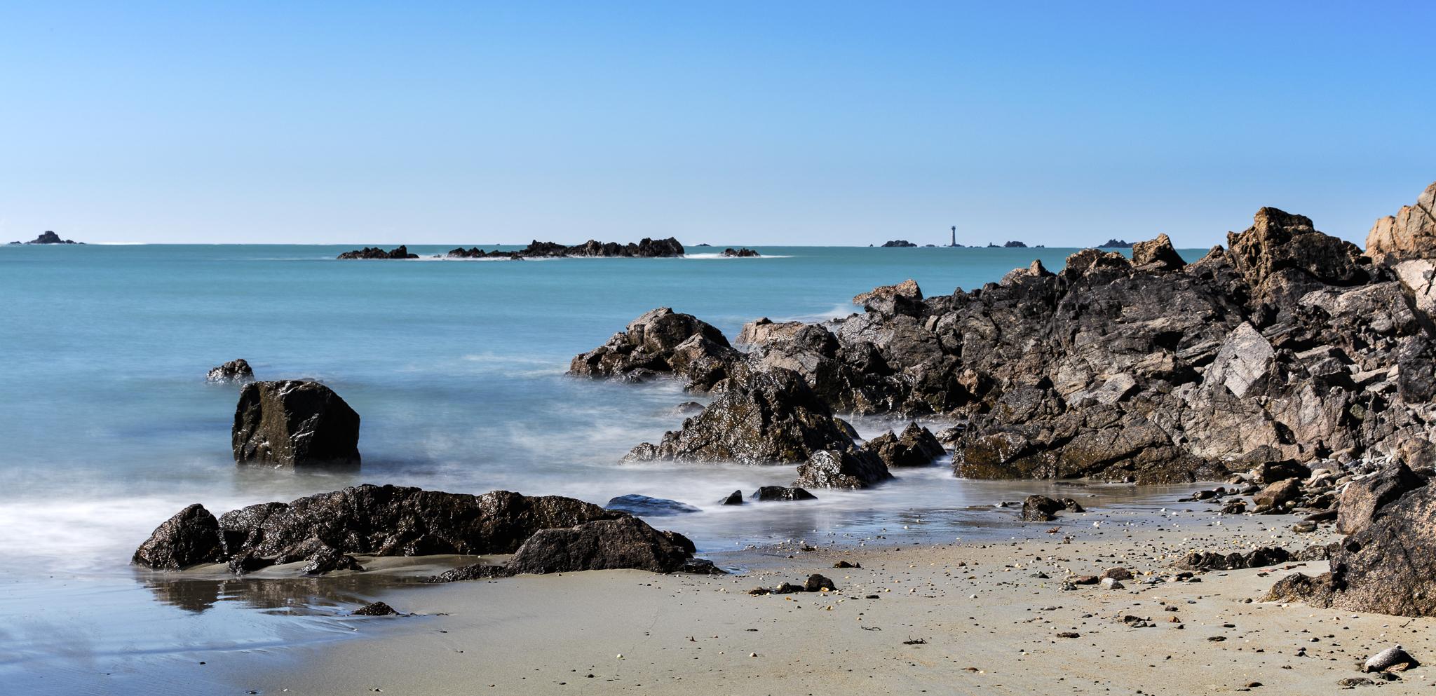Coast near Lihou island, L'Erée, Guernsey, United Kingdom