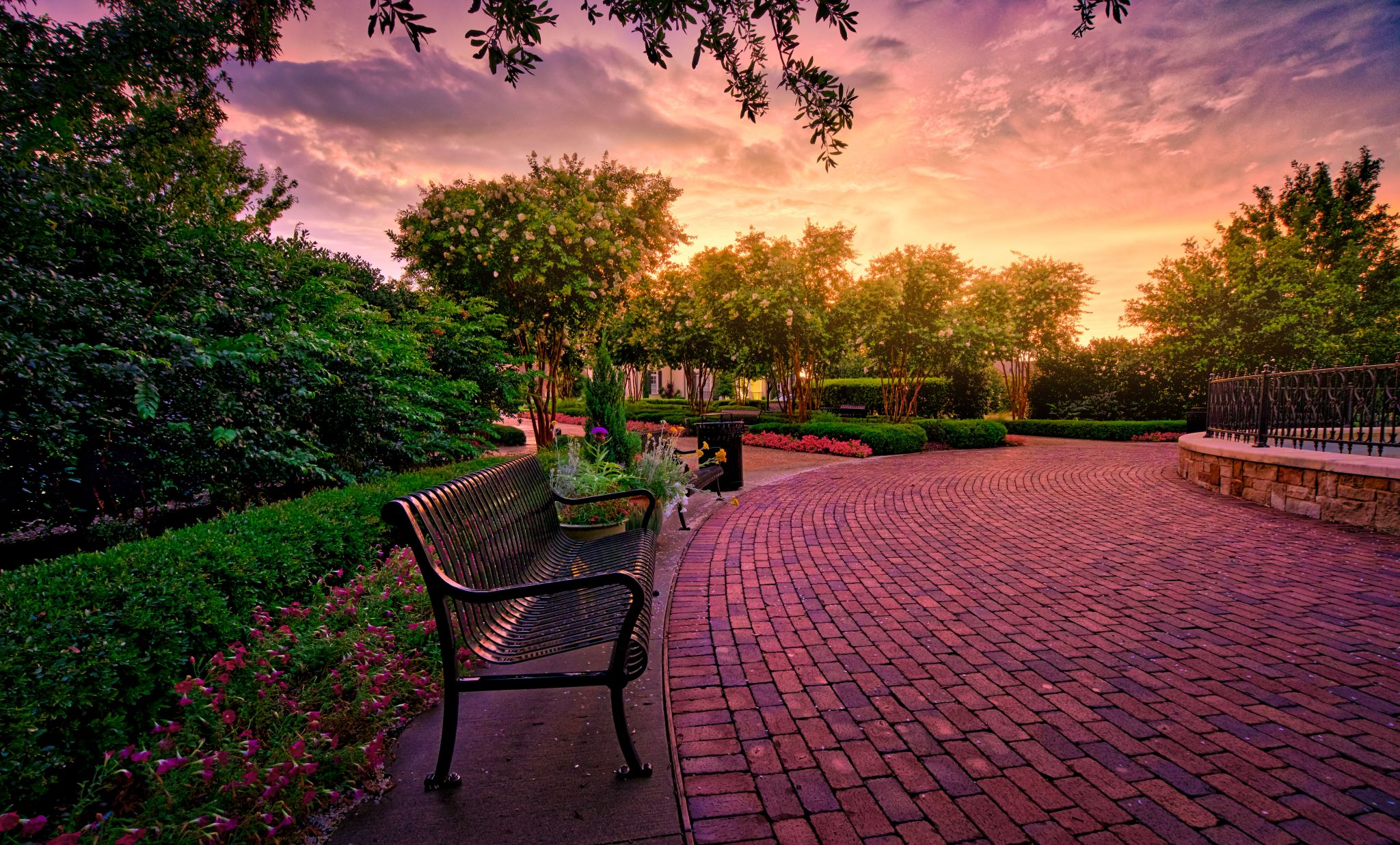 Founder's Square in Tucker Hill of McKinney, Texas, USA