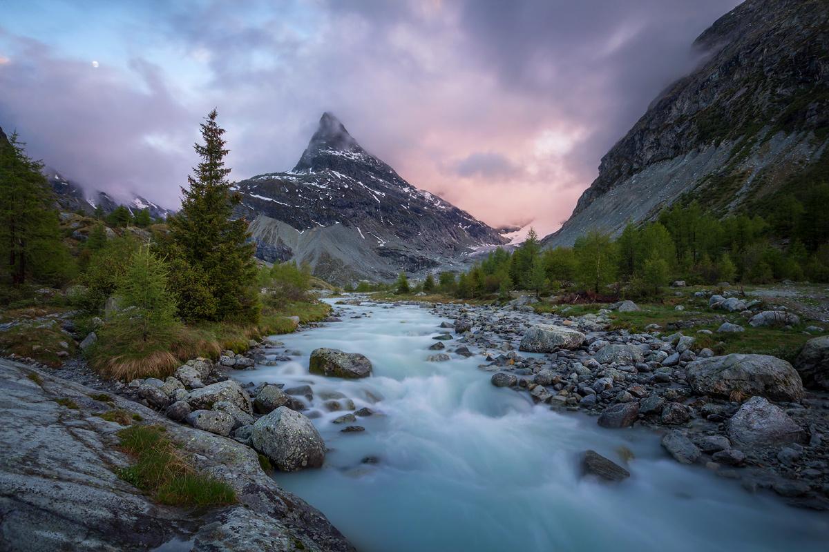 Glacier du Mont Miné, Switzerland