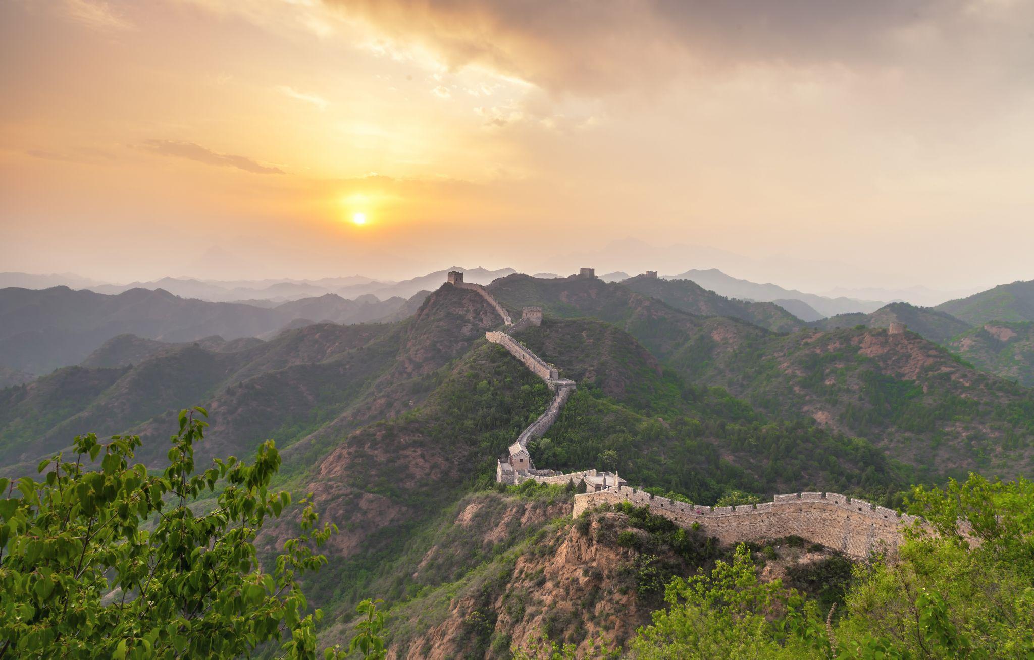 Great Wall Of China, Jinshanling, China, China