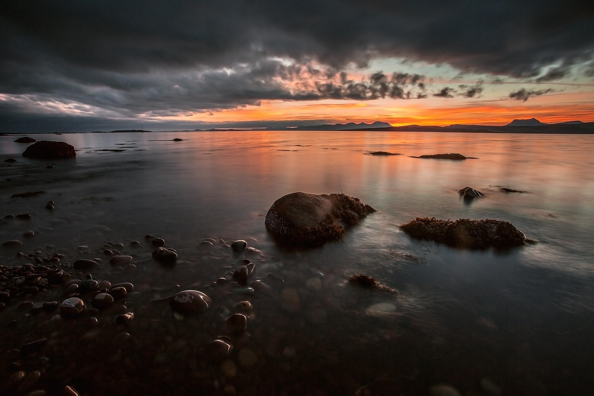 Gruinard Bay Caravan Park and Camping, Laide, Scotland, United Kingdom