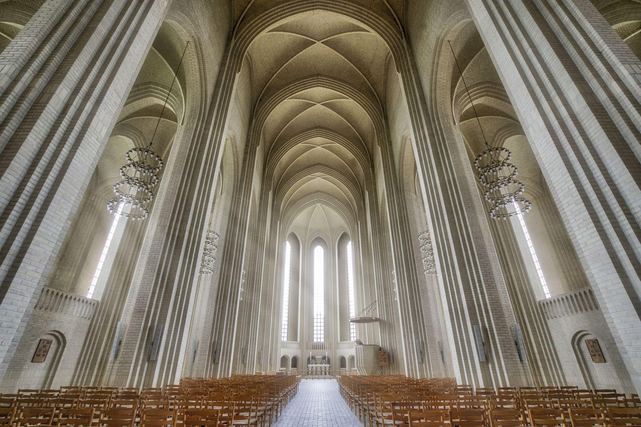 Grundtvigs Kirke, Denmark